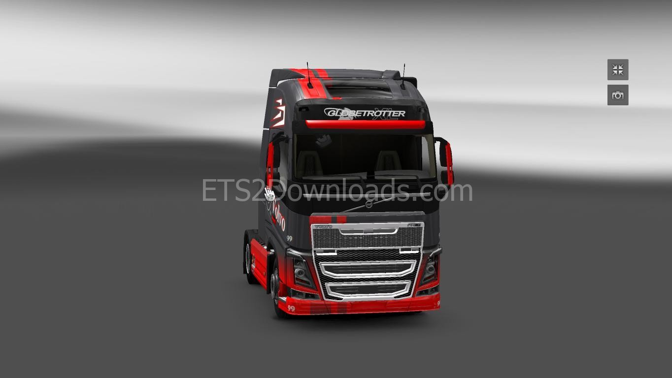 red-grey-skin-for-volvo-ets2-3