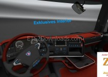 red-leather-interior-for-scania-ets2