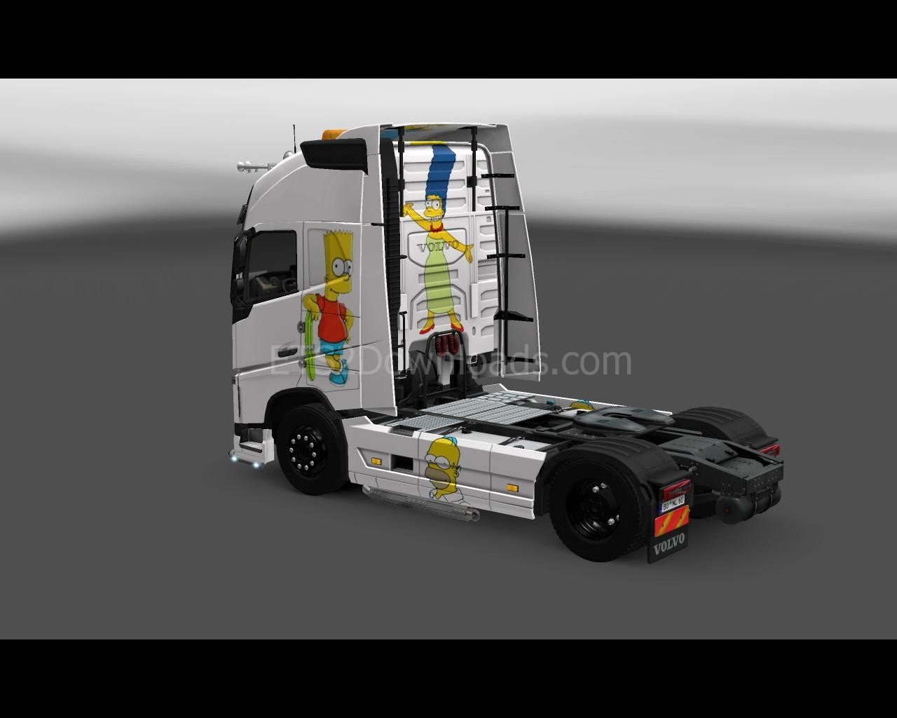 the-simpsons-skin-for-volvo-ets2-2