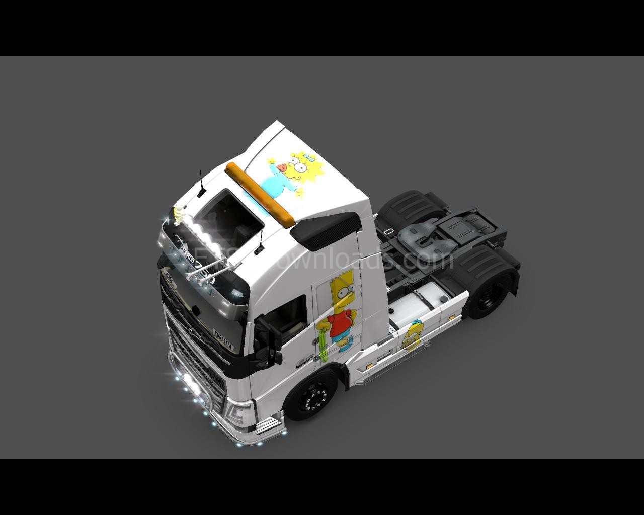 the-simpsons-skin-for-volvo-ets2-4