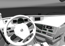 white-interior-for-volvo-fh-2013-ets2-1