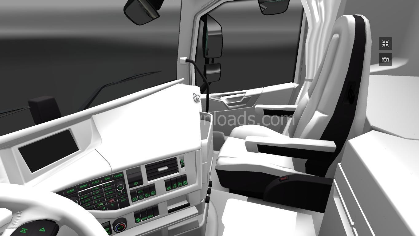 white-interior-for-volvo-fh-2013-ets2-2
