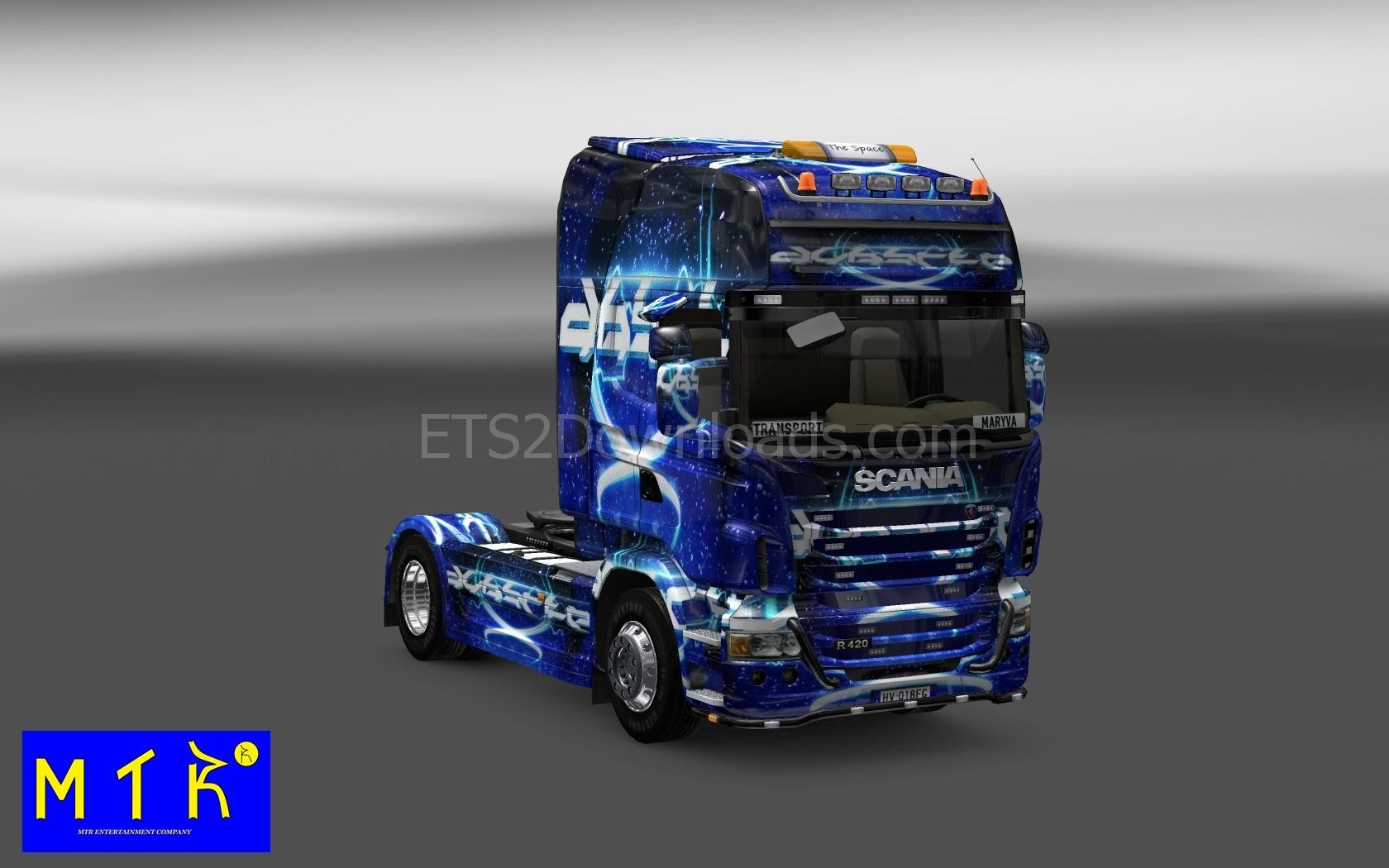 Dubstep Skin For Scania Euro Truck Simulator 2 Mods