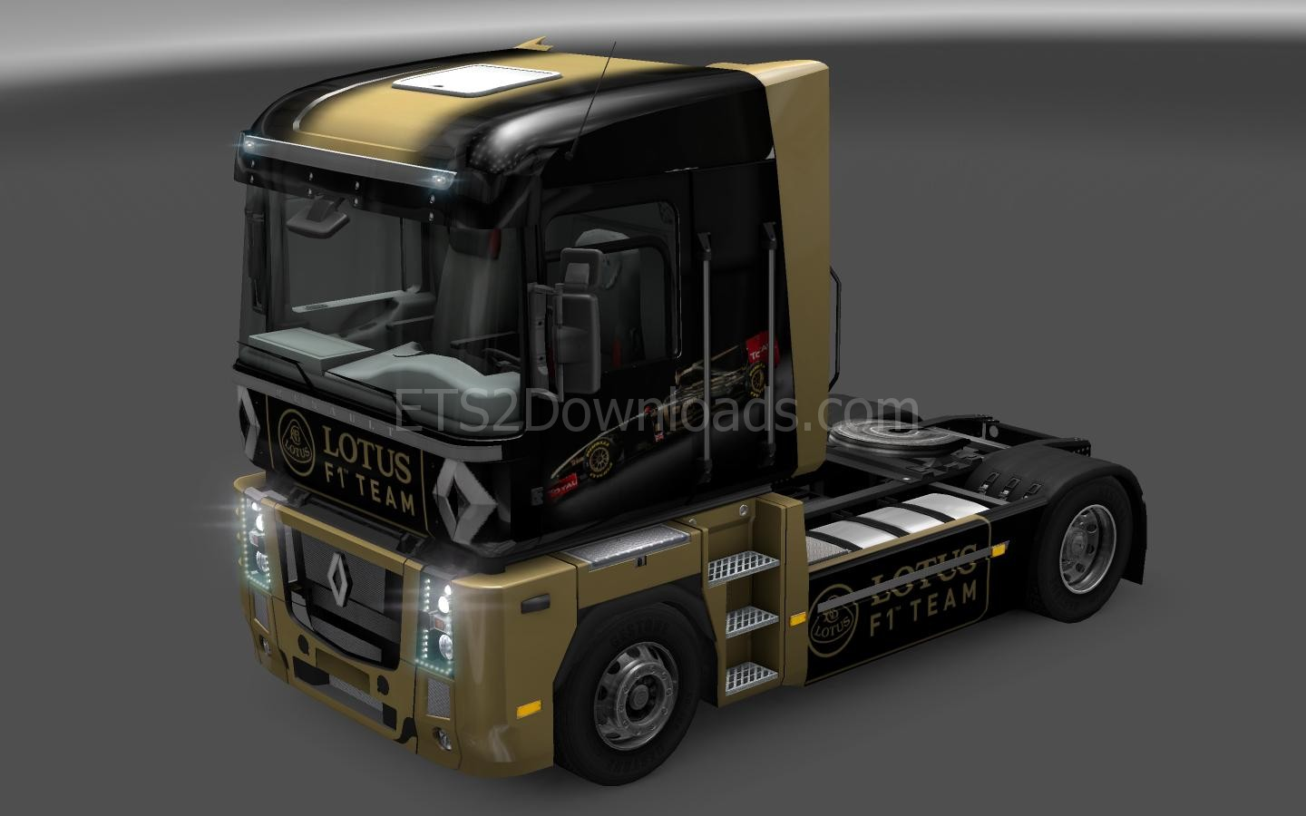 f1-lotus-skin-for-renault-magnum-ets2-1