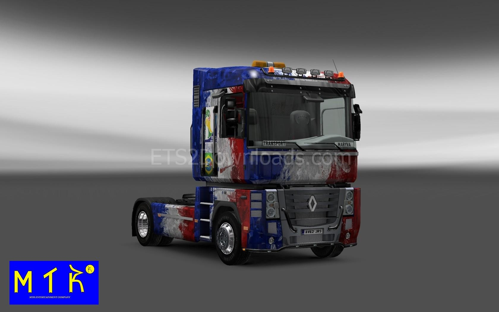 france-skin-for-renault-magnum-ets2-1