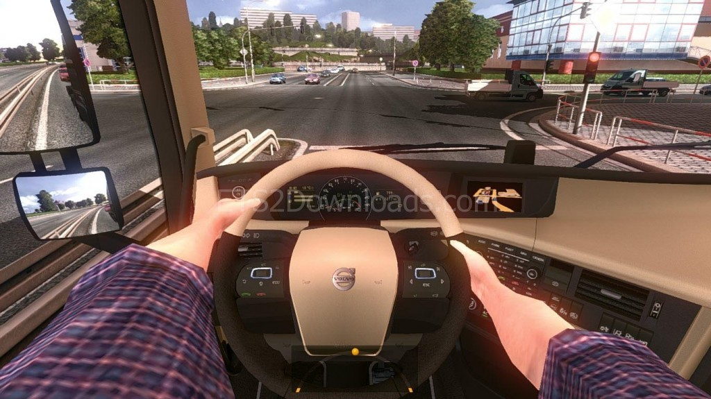 Hand On Wheel Streeing - ETS 2 Mods ETS2Downloads