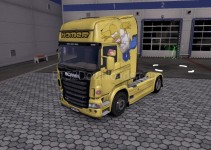 homer-simpsons-skin-for-scania-ets2-1