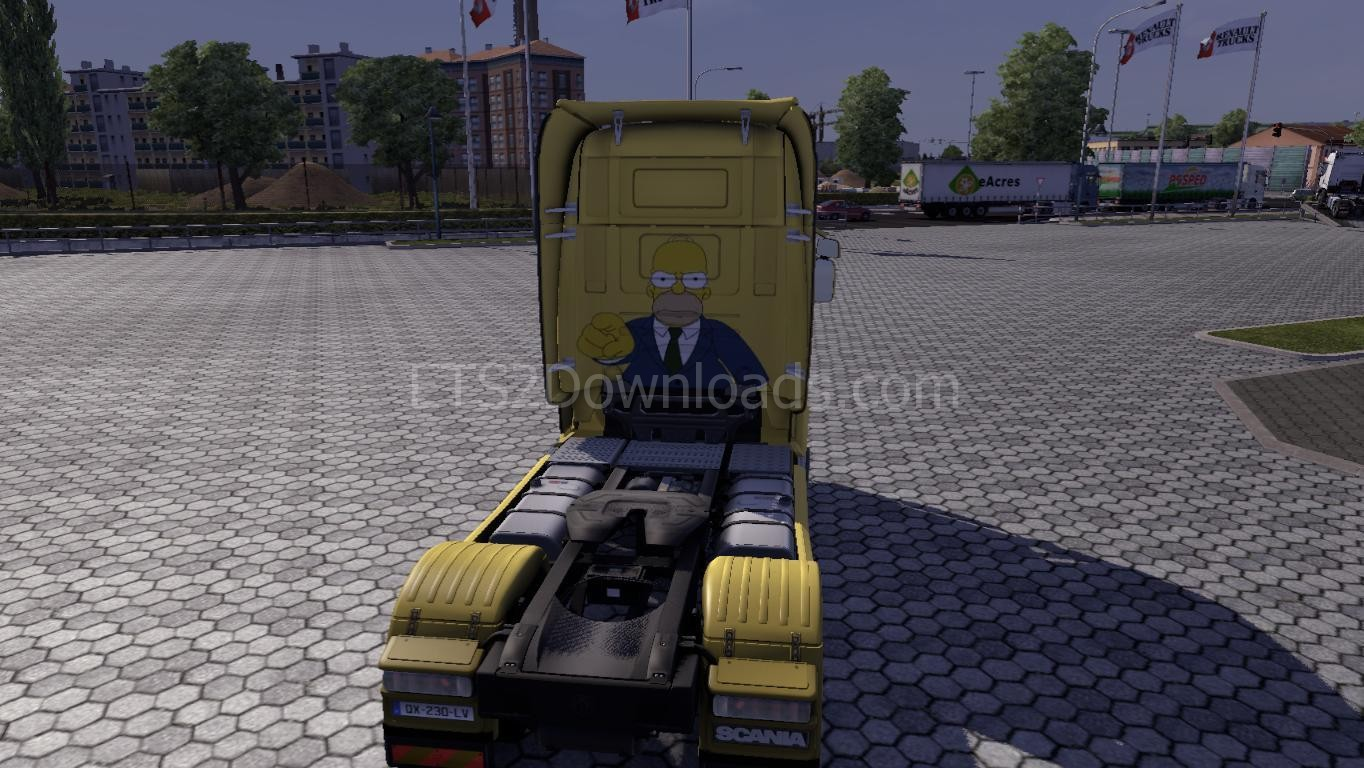 homer-simpsons-skin-for-scania-ets2-3