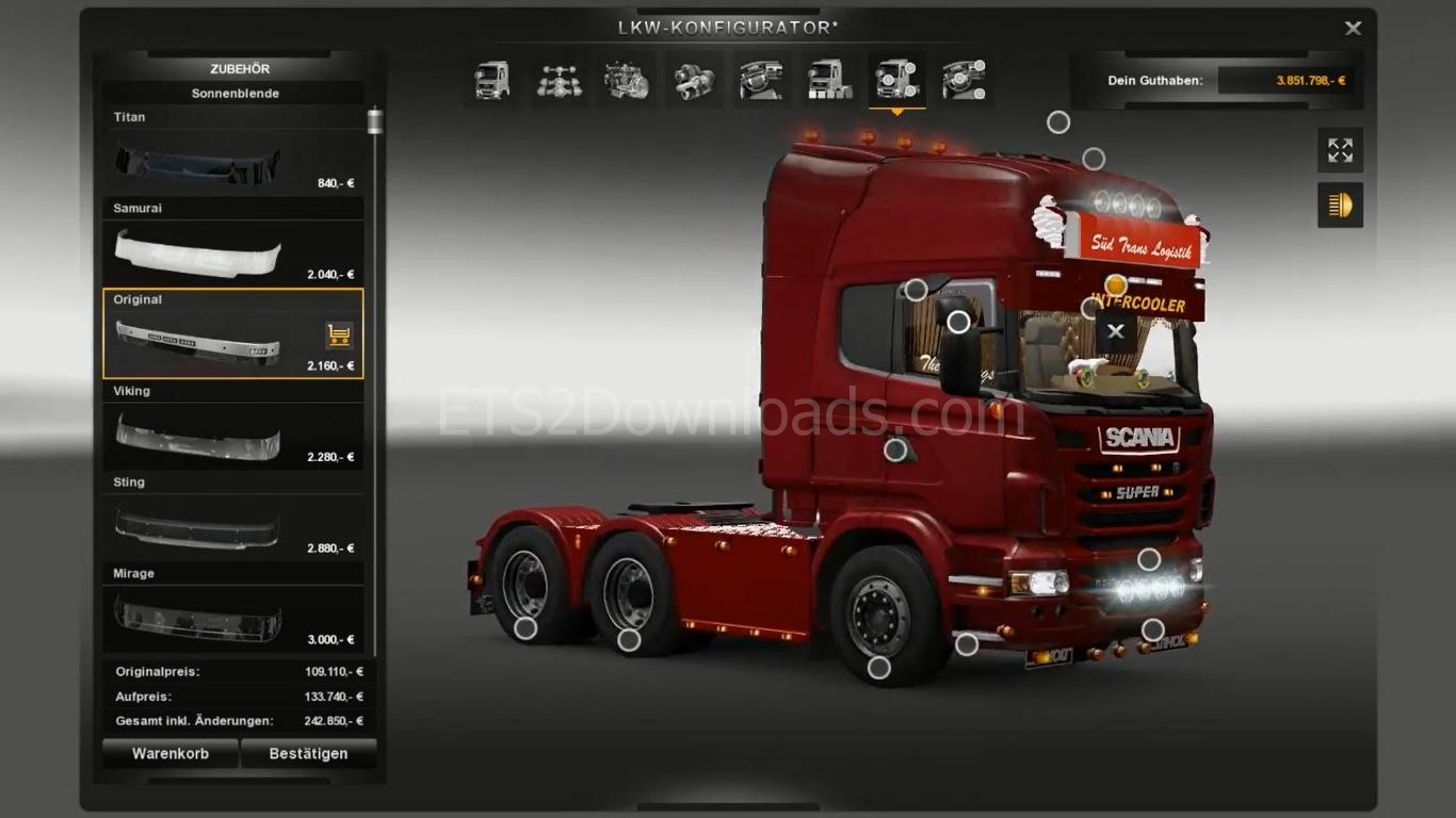 Scania R2009 + Interior - Euro Truck Simulator 2 Mods