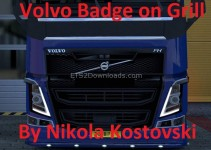 badge-on-grill-for-volvo-v2-ets2