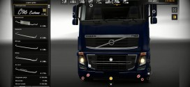 Bottom Grill for Volvo FH16