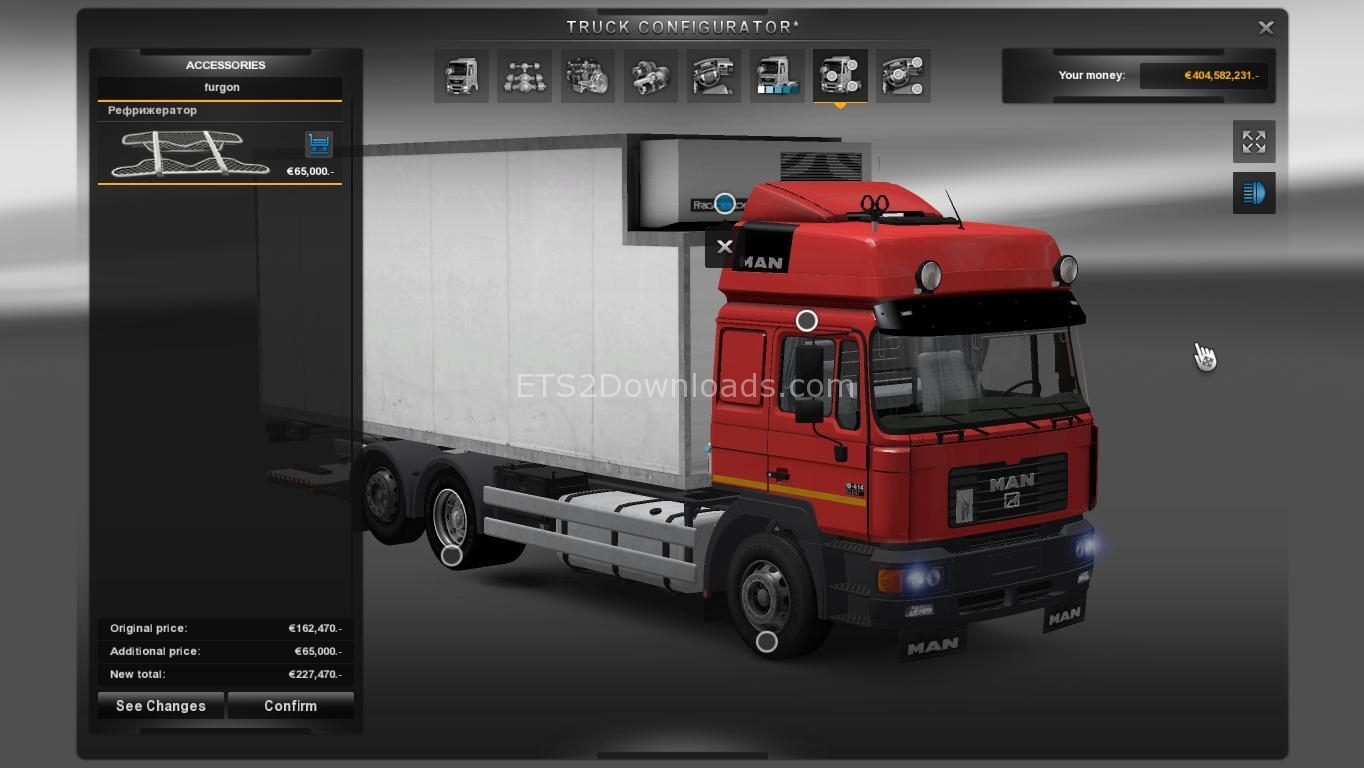 man f2000 bdf ets 2 mods ets2downloads. Black Bedroom Furniture Sets. Home Design Ideas
