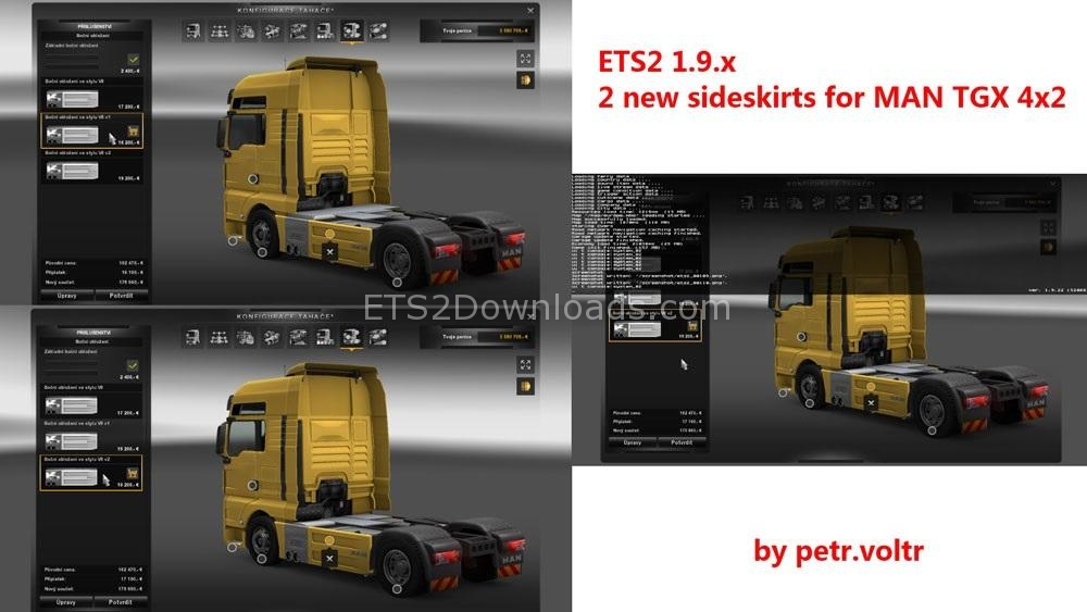 new-sideskirts-for-man-tgx-ets2