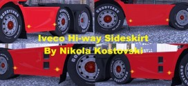 Sideskirts 6×2 & 6×4 for Iveco