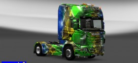 Skin Brasil 2014 for Scania