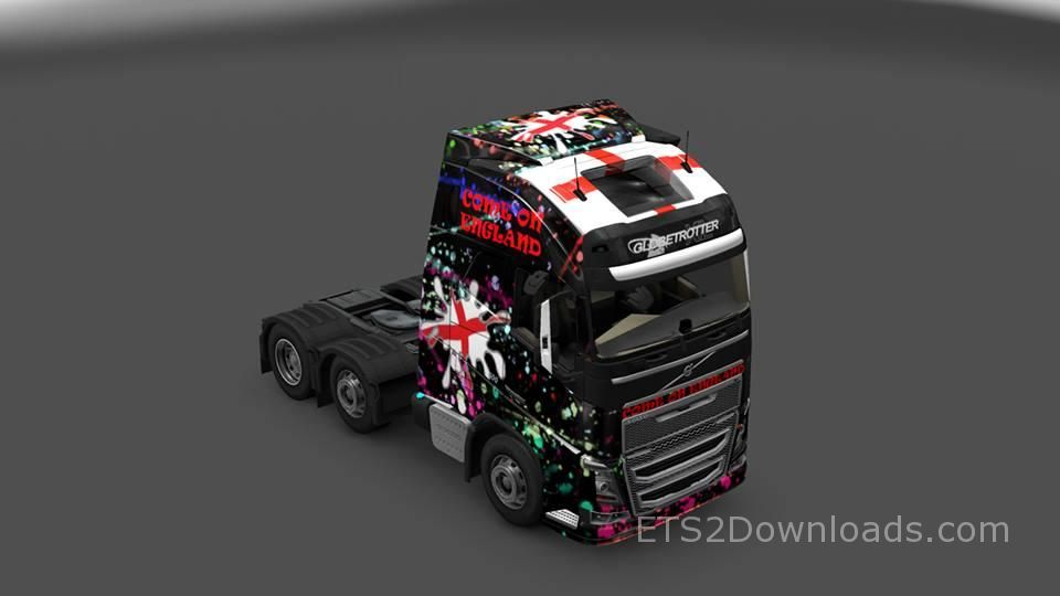 england-skin-for-volvo-fh-2013