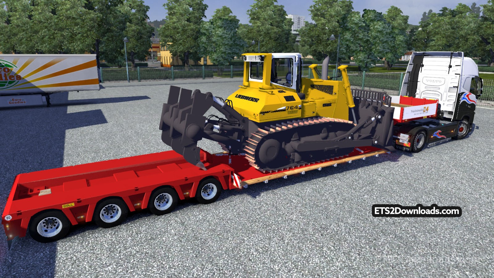 doll-vario-trailer-with-liebherr-pr-764-bulldozer