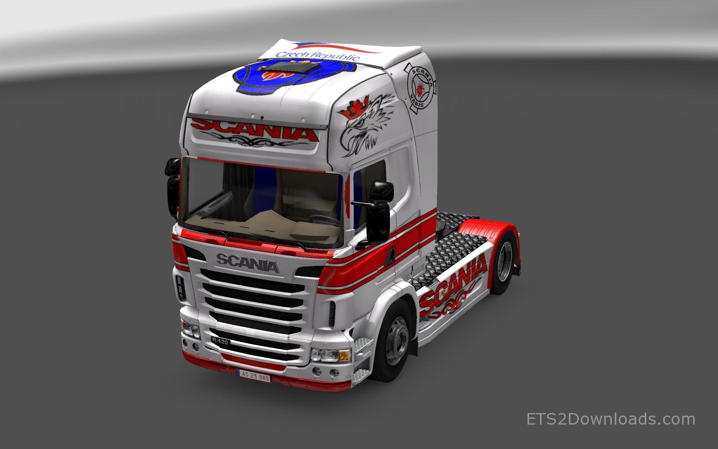 redwhite-skin-for-scania-r-2009