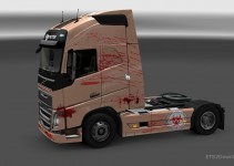 bloody-skin-for-volvo-fh-2012