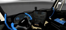 Dark Turkish Interior for Iveco Hi-Way