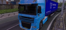 de wit transport Skin for DAF XF