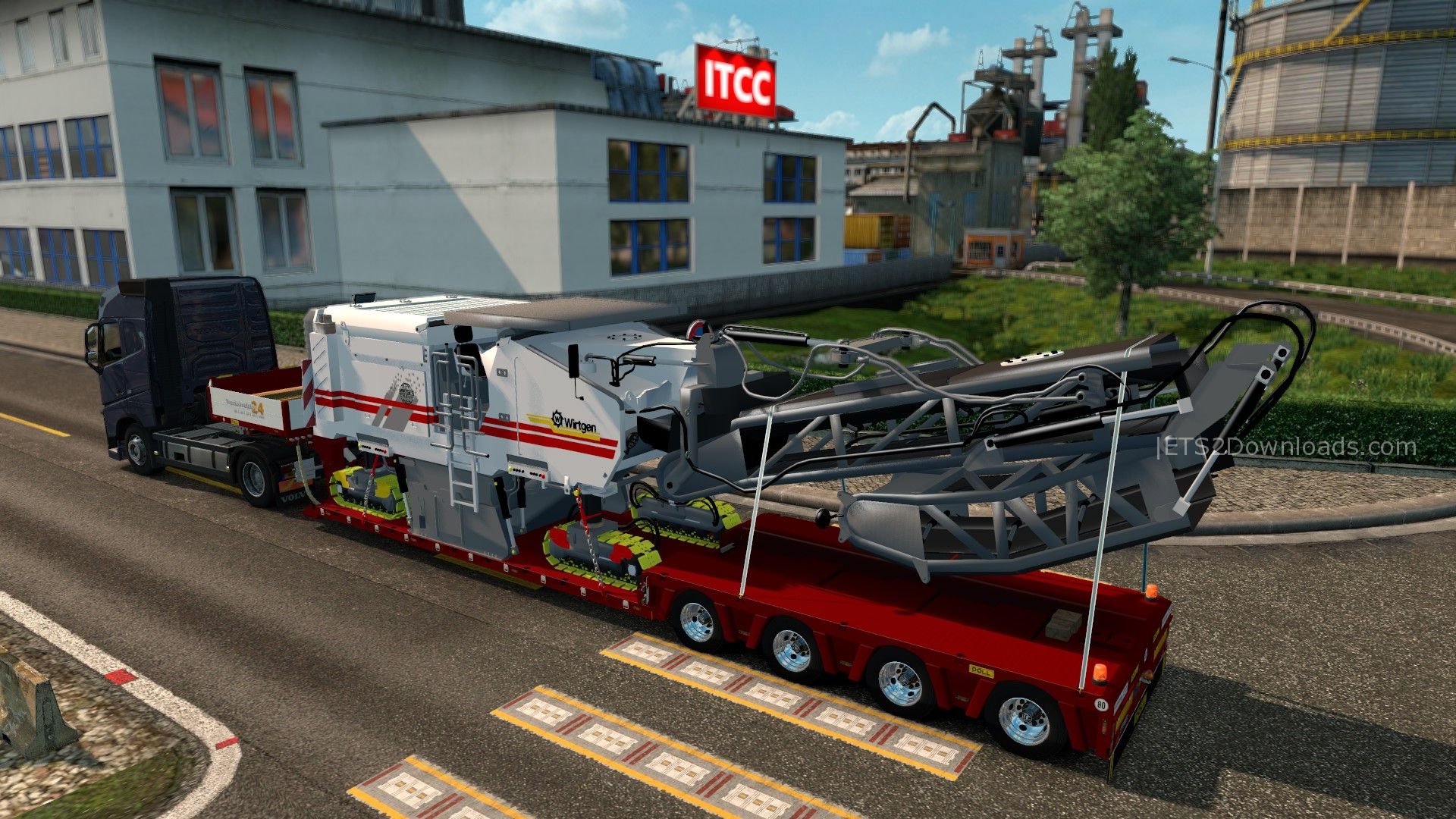 machine trailer