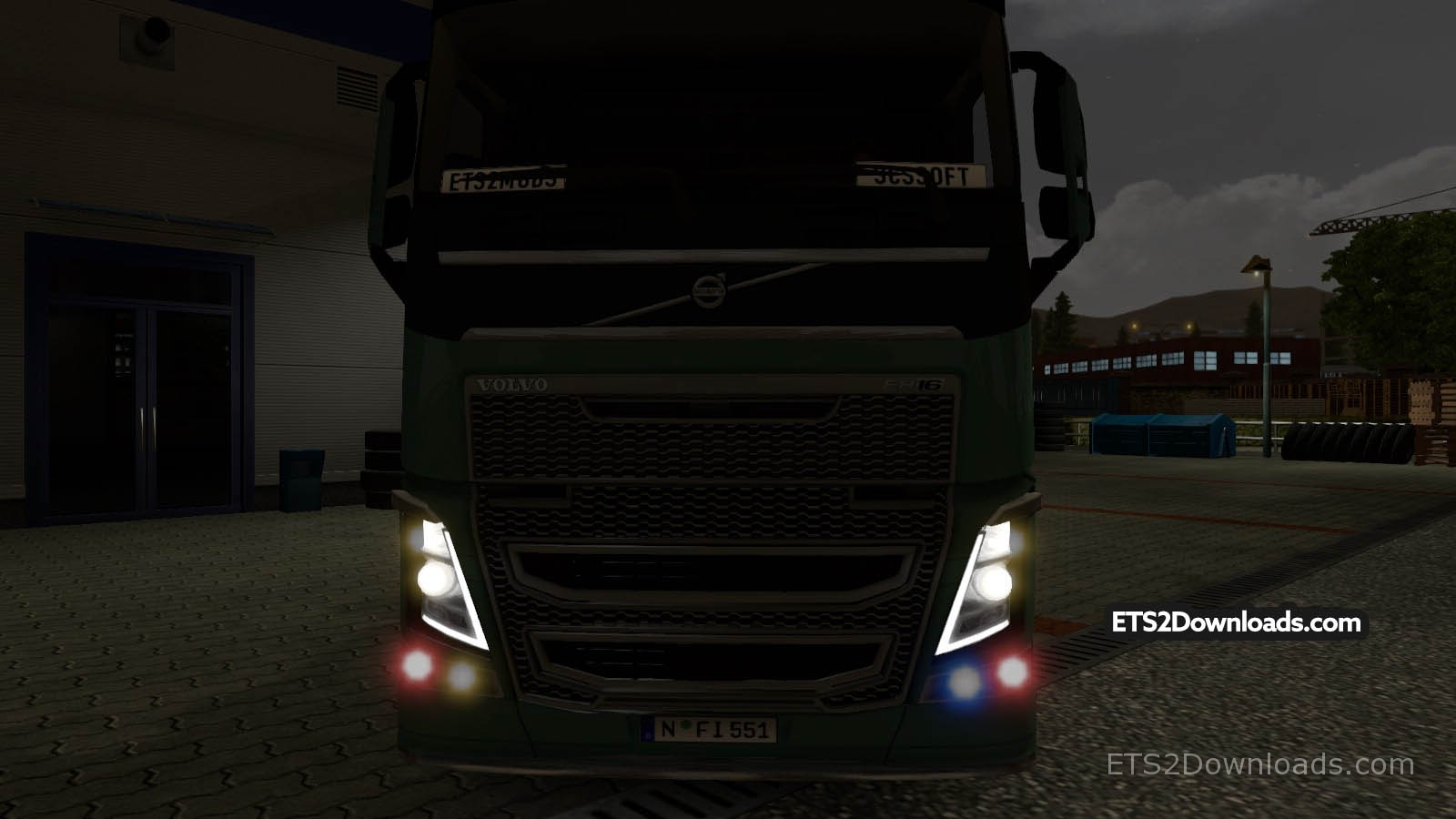 ets2 mods neon lights by jackpot