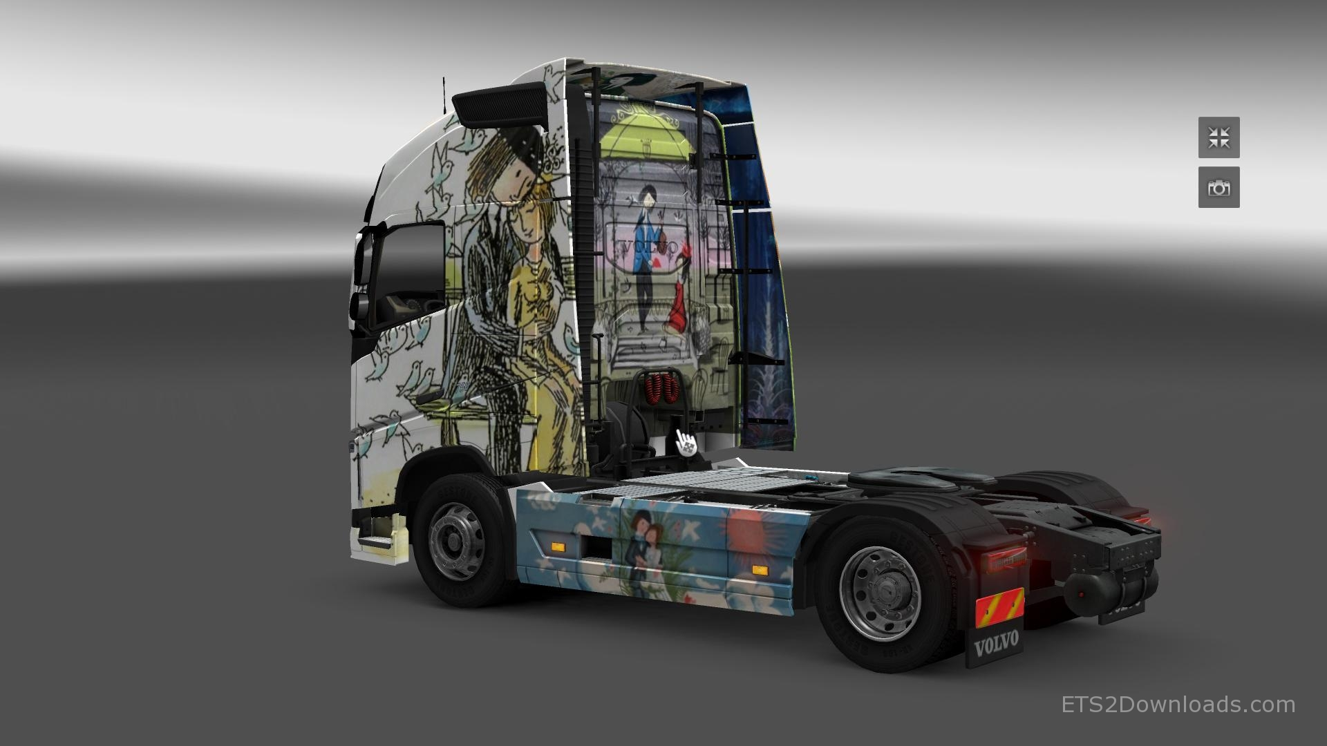 peynet-skin-for-volvo-fh-2012-2