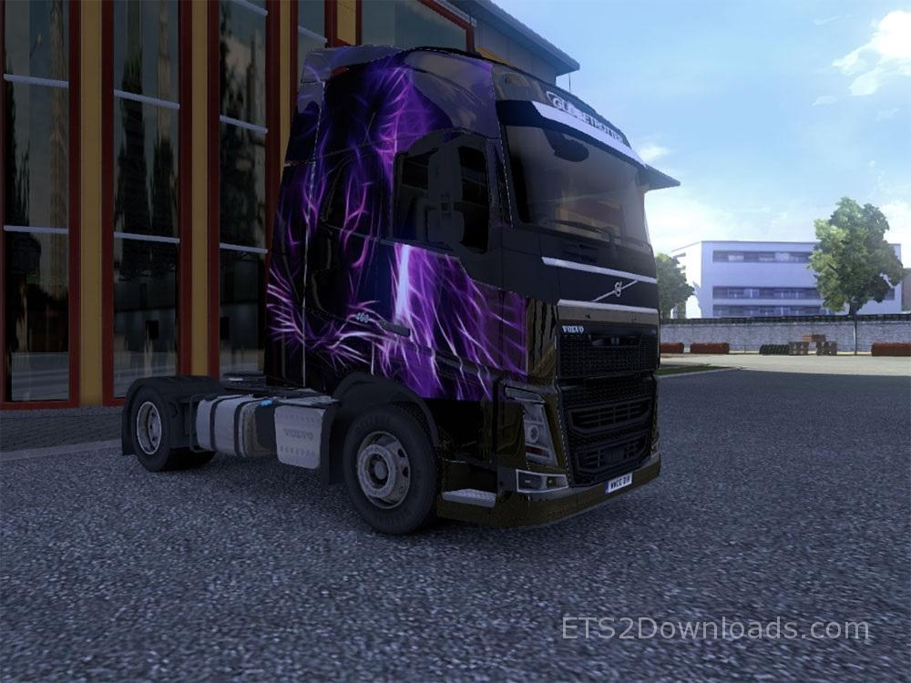 purple-tiger-skin-for-volvo-fh-2012