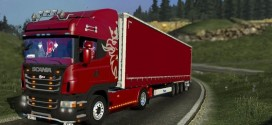 Scania R420 with Trailers Crown