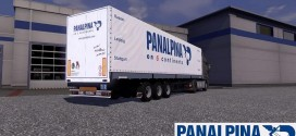 Schmitz Panalpina Trailer