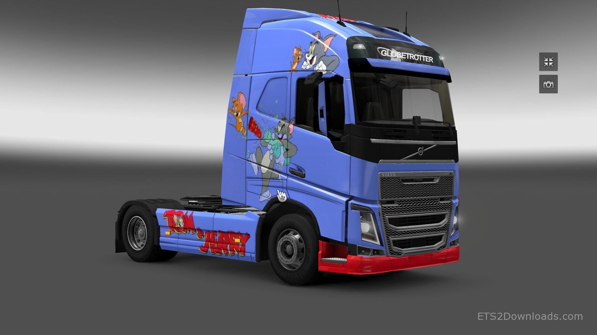 tom-jerry-skin-for-volvo-fh-2012-1