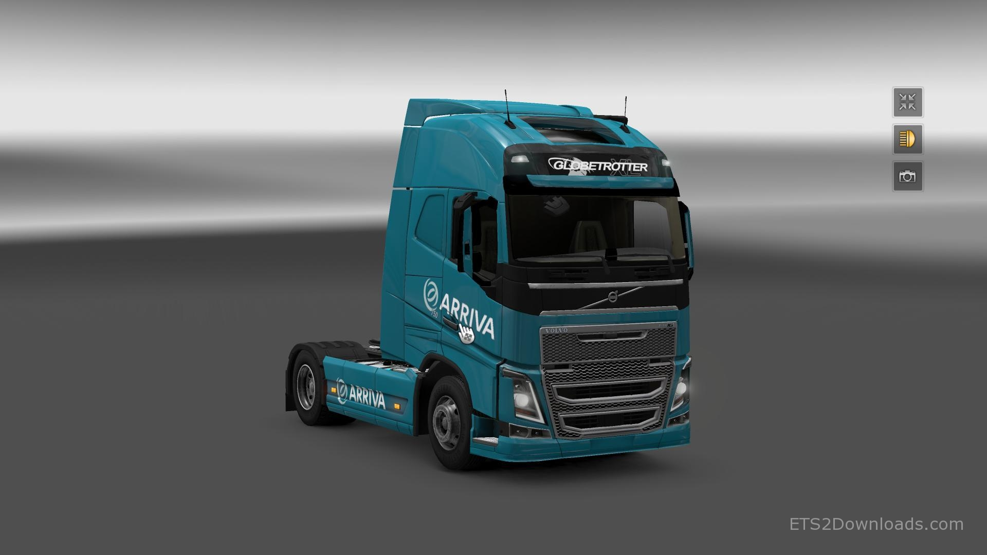 arriva-skin-for-volvo-fh-2012-2