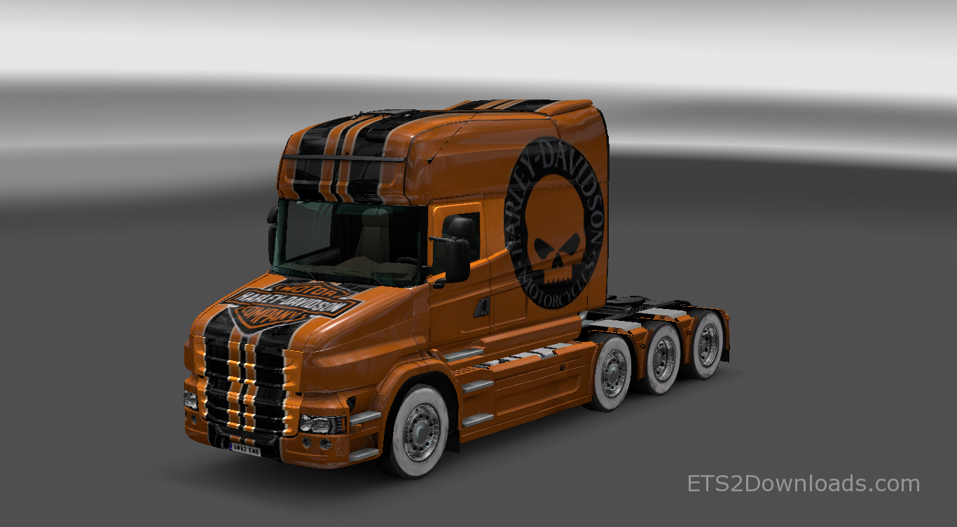 Harley Davidson Skin for Scania T