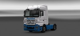 Papalino Skin + Trailer for Mercedes
