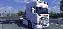 TransWhite Portugal Pack for Scania
