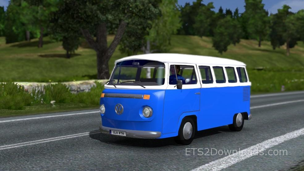 volkswagen combi type 2 5 colors pack euro truck simulator 2 mods. Black Bedroom Furniture Sets. Home Design Ideas