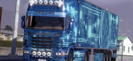 Blue Skin Pack for Scania
