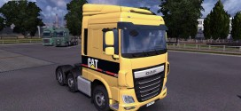Reworked and Open Pipes Sound for DAF Euro 6