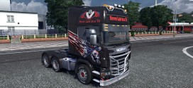 Skull Piston Skin for Scania