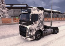 army-winter-skin-for-volvo