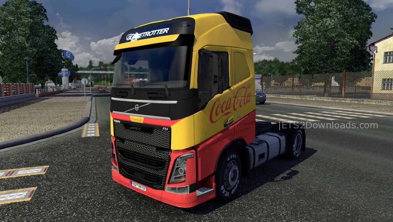 cocacola-skin-for-volvo