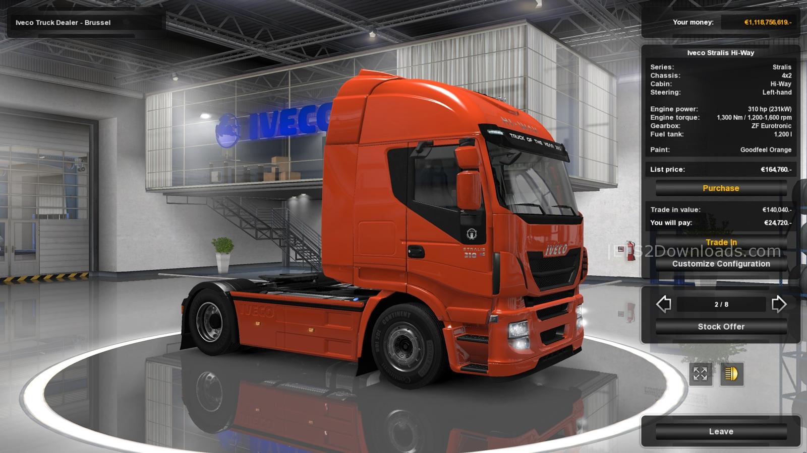 Euro truck simulator 2 click 1