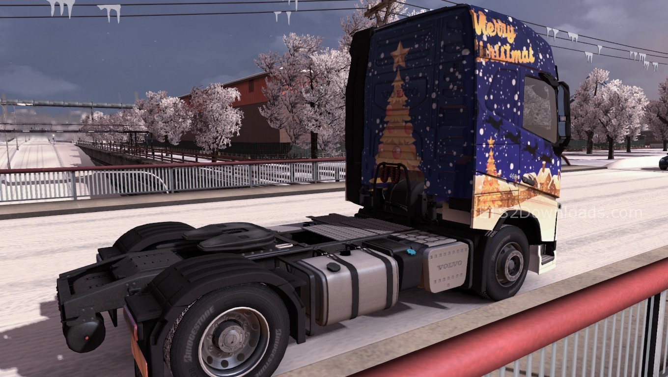 merry-christmas-skin-for-volvo-2