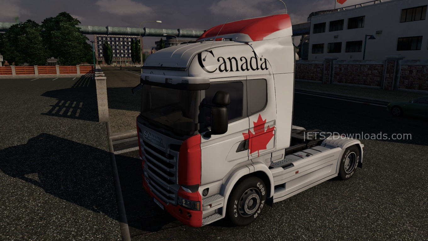 canada-skin-for-scania-streamline