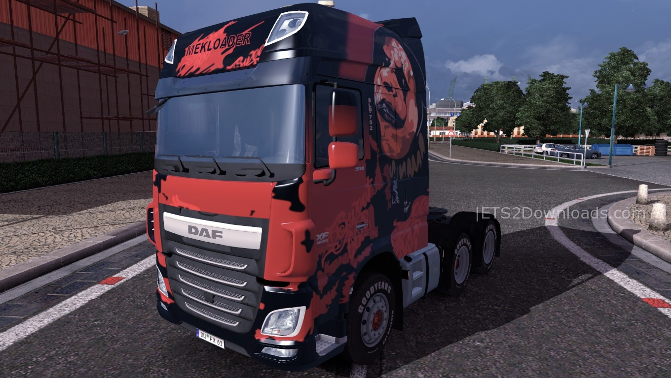 sweet-666-skin-for-daf-euro-6a