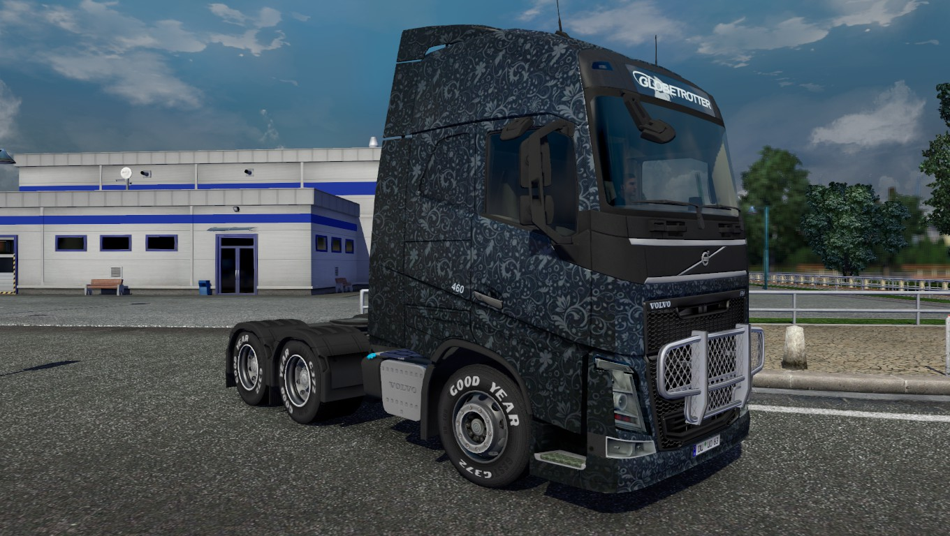 grey-pattern-skin-for-volvo
