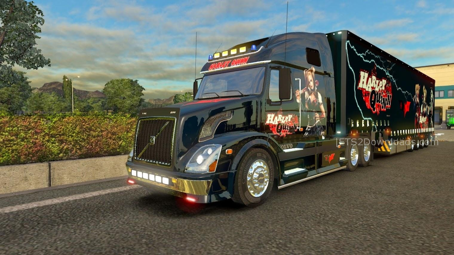 harley-quinn-skin-pack-for-volvo-vnl-670