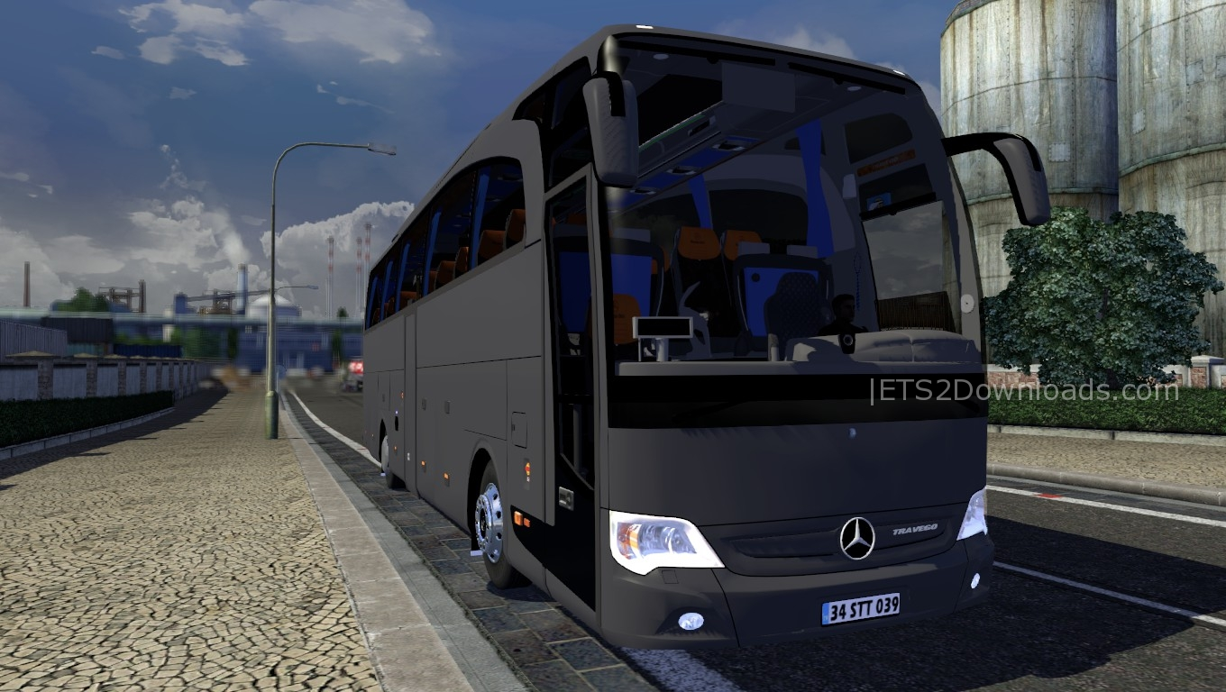 Mercedes Benz Travego 15 Shd Bus Ets 2 Mods Ets2downloads