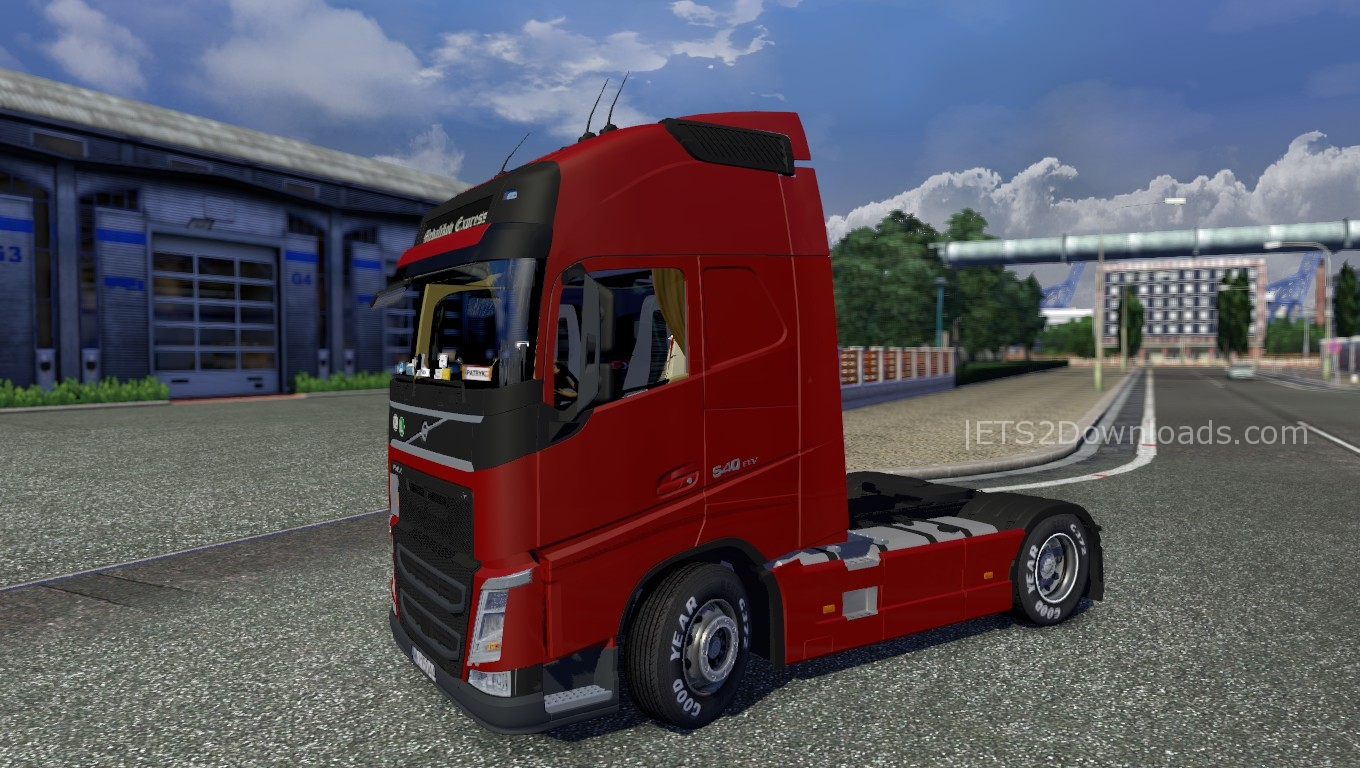 volvo fh 4 v2 0 ets 2 mods ets2downloads. Black Bedroom Furniture Sets. Home Design Ideas